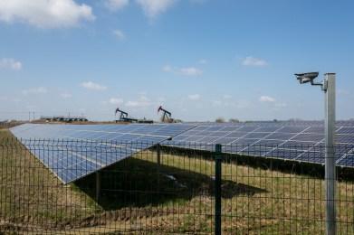 Oil and solar power