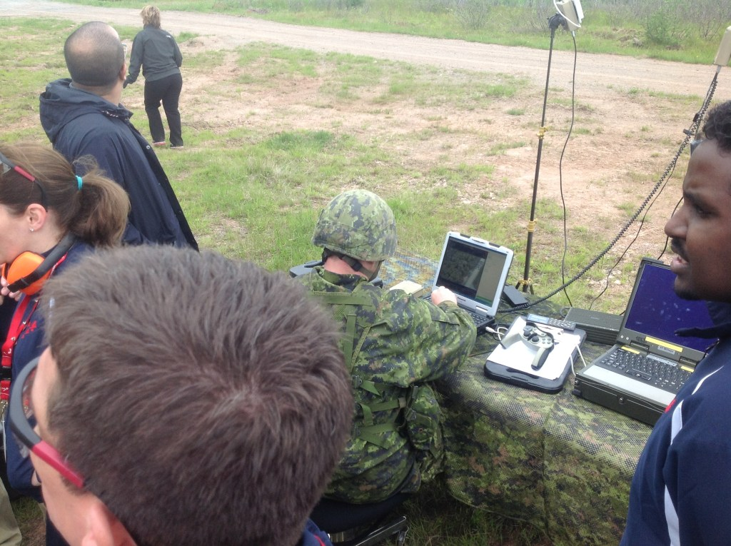 Controlling unmanned aerial vehicles
