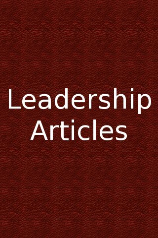 VOCL 021 – Looking at Leadership Articles #6