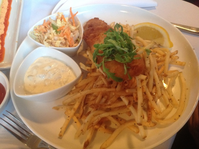 McGill's Cafe and Restaurant - Haddock and Pomme Frites