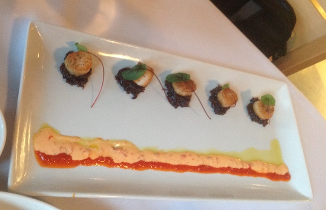 McGill's Cafe and Restaurant - Scallops with Bacon Jam