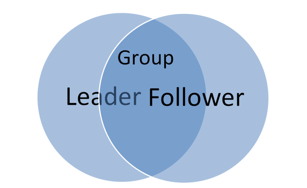 More closely aligned vision between leader and follower