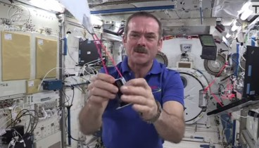 Myth-Busters Game on ISS