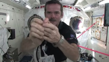 Hand-washing in zero-g