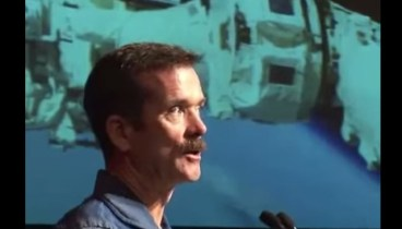 Chris describes Space Toilet