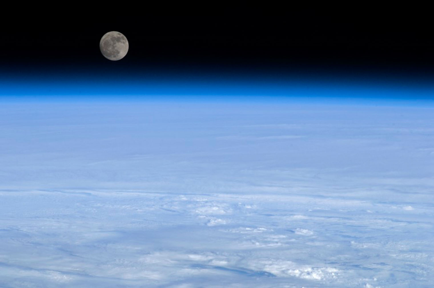 Image result for chris hadfield photos of earth and moon  from space
