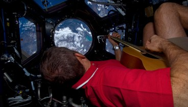 In the ISS Cupola, seeing the world