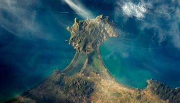 Coastline in Italy
