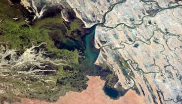Delta at Lac Débo, Mali