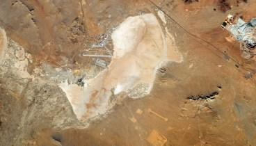 Dry lakebeds, California, USA