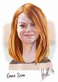 Emma Stone portrait 23rd September 2014