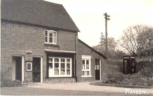 Heydon Post Office close-up