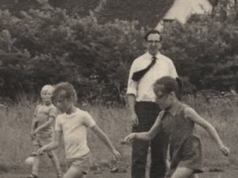 Egg and Spoon Race 1970