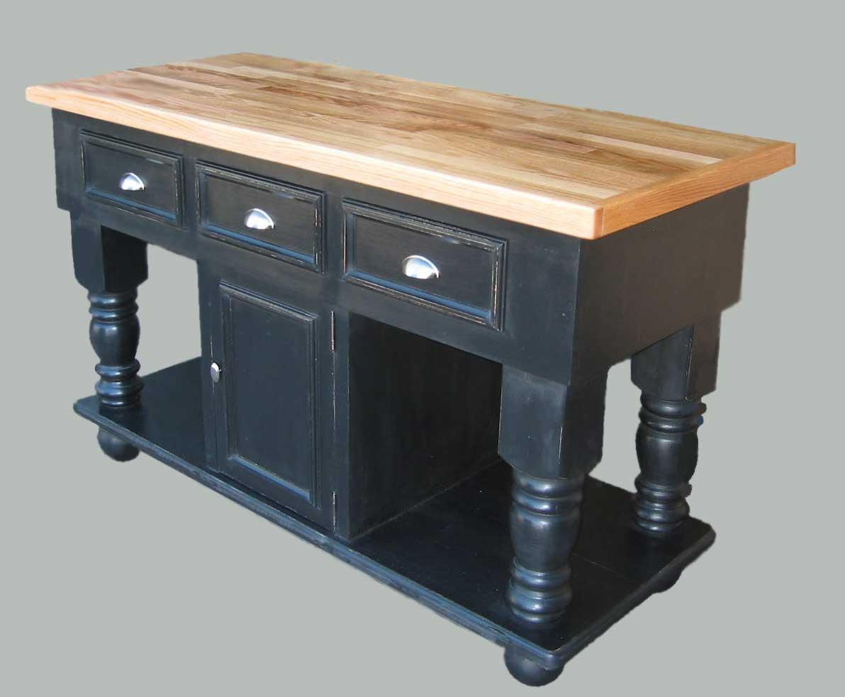 kitchen island butcher block american classics cabinets furniture