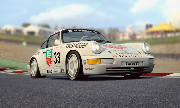 RaceRoom Porsche 964 Carrera Cup Car [Preview]