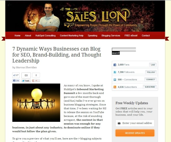 7 Dynamic Ways Businesses can Blog for SEO, Brand-Building, and Thought Leadership