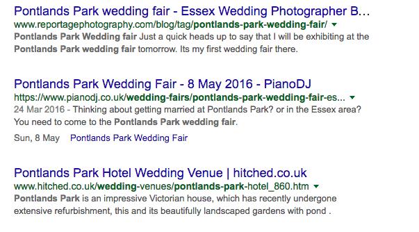structured data wedding fair 2