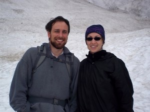 At the Big Four ice caves, too early in the season to see them. (Cascades)