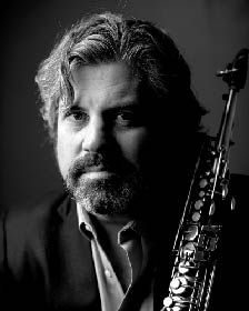 chris heslop with soprano sax