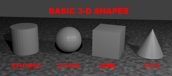 Basic 3D shapes