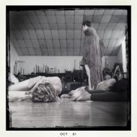 Grant Russel standing over the fallen.