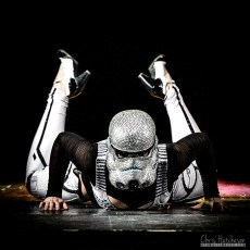 Charlie Quinn, from Revenge of the Strip: A Star Wars Burlesque Tribute