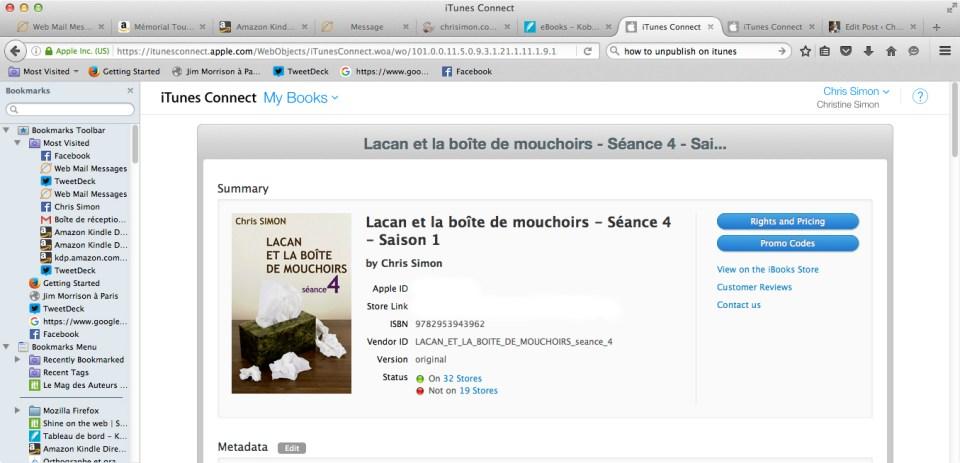 Lacan et la boite de mouchoirs-Séance 4