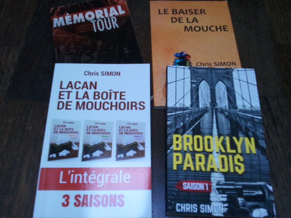 Livres dédicaces Chris Simon.