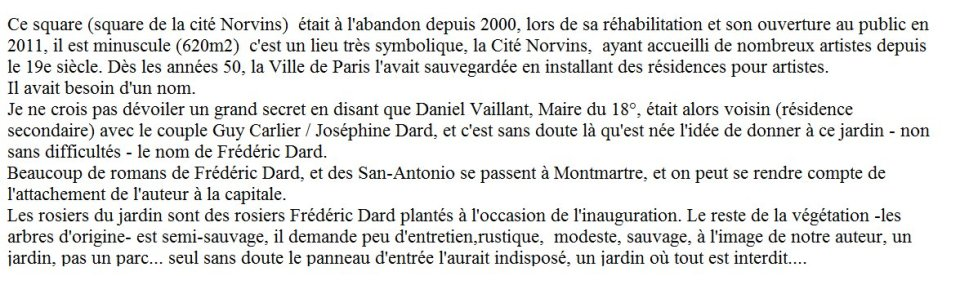 Creation jardin Frederic Dard
