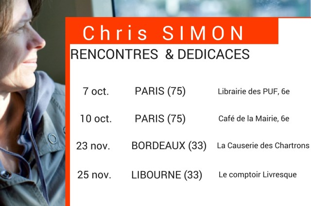 Chris Simon Dédicaces