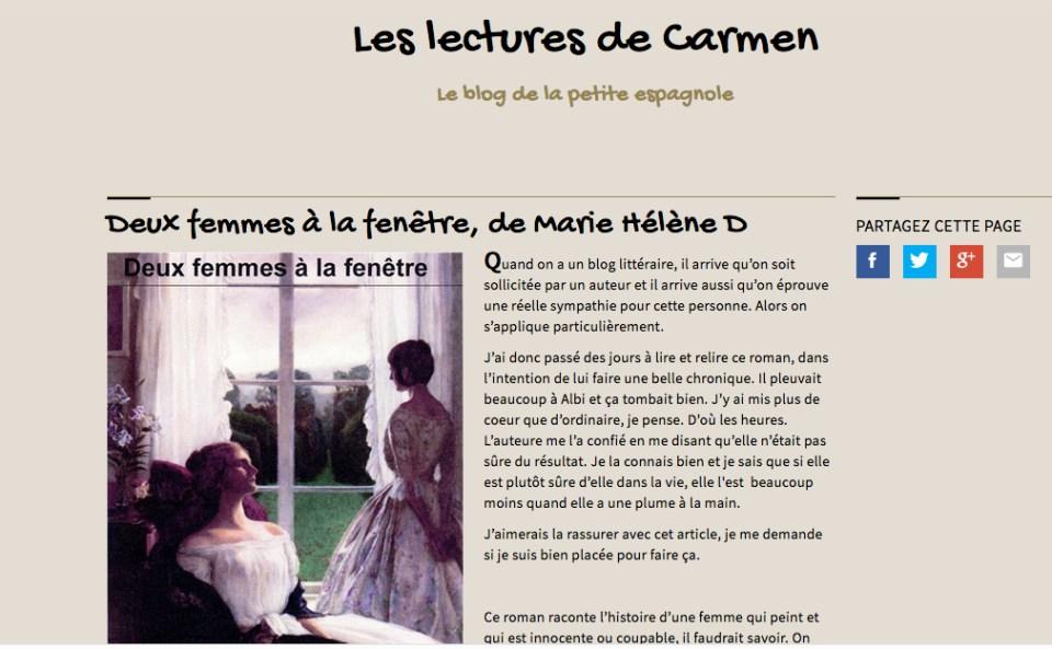 Les lectures de Carmen