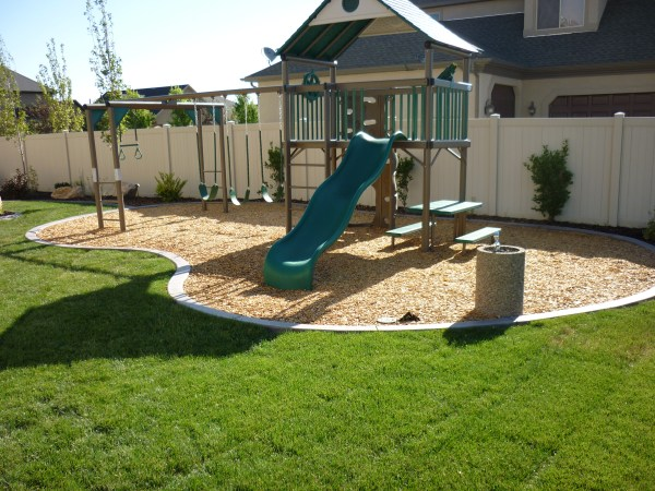 25+ Playground Ideas Backyard Landscape Pictures and Ideas