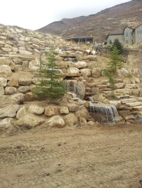 Utah Paver company in Utah and a water feature fountain in ...