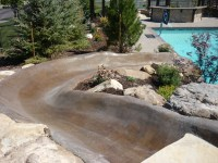 Utah backyard playgrounds, Trampolines in the ground, Rock ...