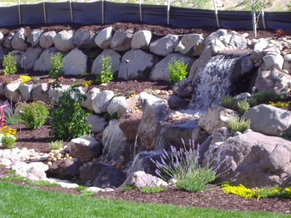 25 Rock Walls Landscaping Pictures And Ideas On Pro Landscape