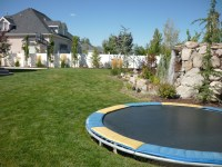 Ideas 4 You: Landscaping around pool area fire pit