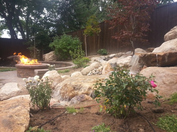 landscaping in pepperwood sandy