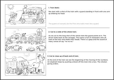 Storyboard outline