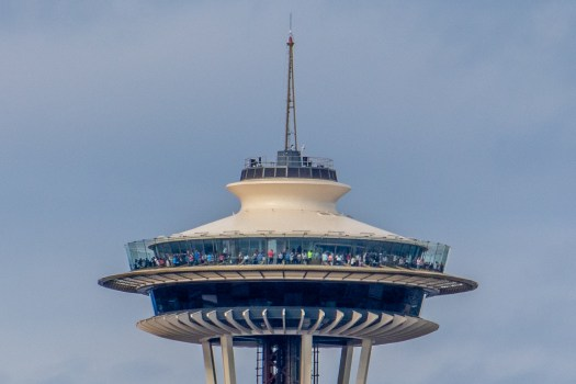 Clearly there is not enough people on the observation deck ;)