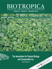 Biotropical Special Issue 2012
