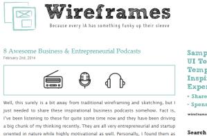 Wireframes Magazine