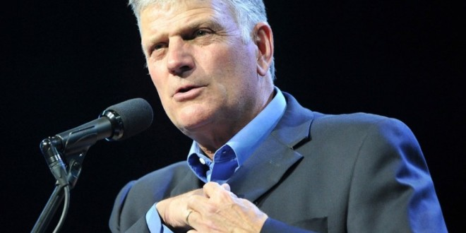 Dear World, Franklin Graham Doesn't Speak For Us, Or Jesus