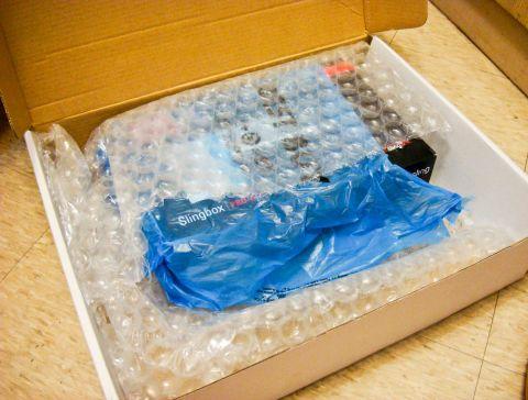 包好大一包的外盒
