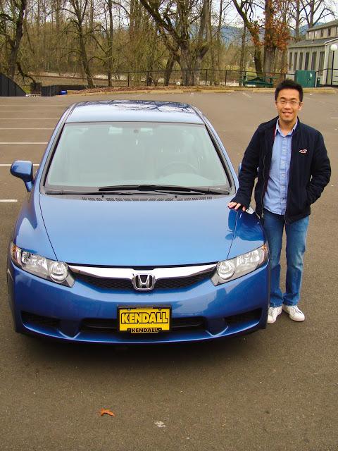 Winter term買了第一台Civic!