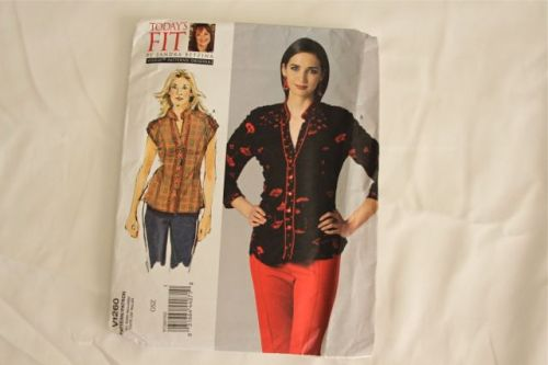 I quite like the style of this top and I don't have one like this in my stash... so in she goes.