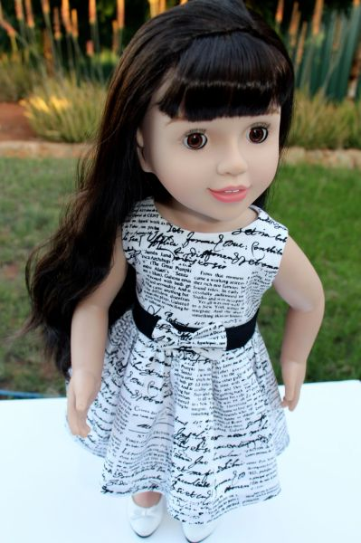 Australian Girl Doll Belle - Wearing Making Headlines