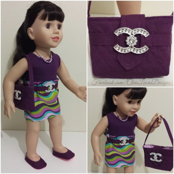c7f74991ac10 Australian Girl Doll – Chanel Inspired Outfit
