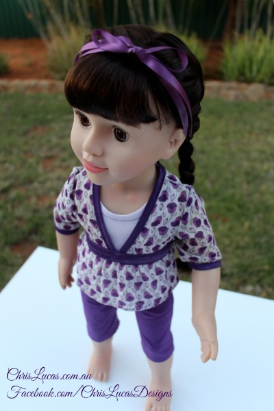 Australian Girl Dolls Clothes - Chris Lucas Designs - Giveaway Outfit
