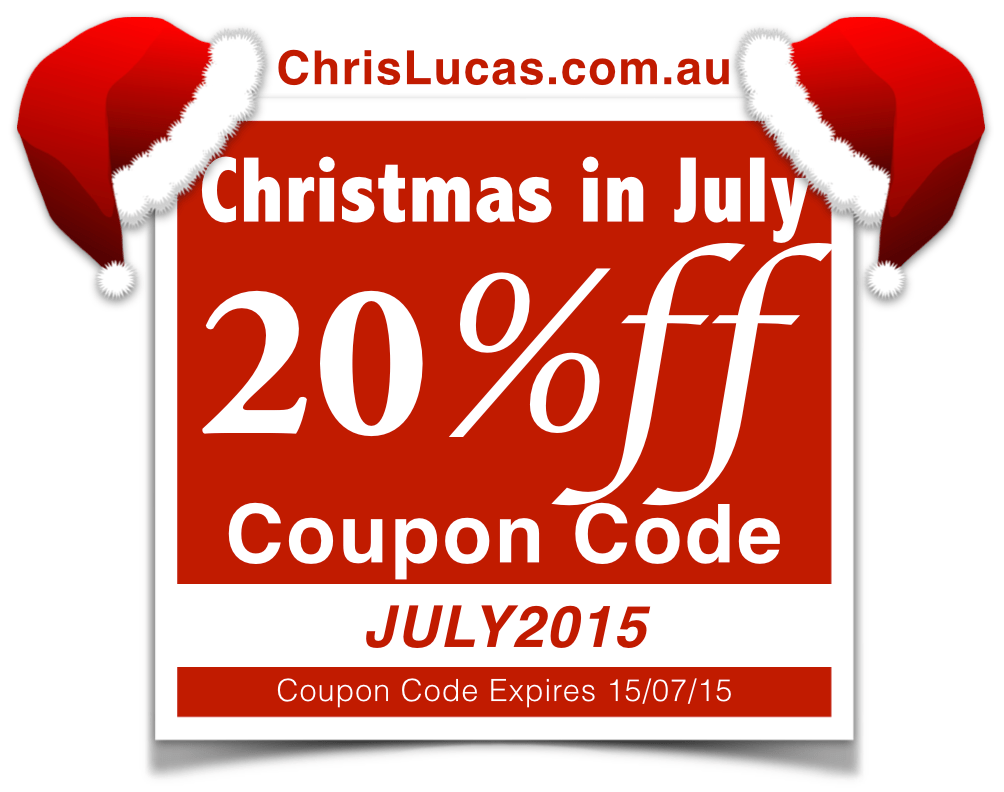Christmas in July 2015 - Coupon Code