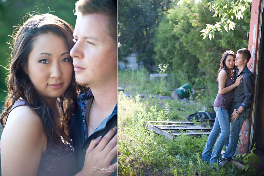 Christopher Luk Engagement Session 2011 - Chantelle and Lucas - Stouffville / Pickering Farm